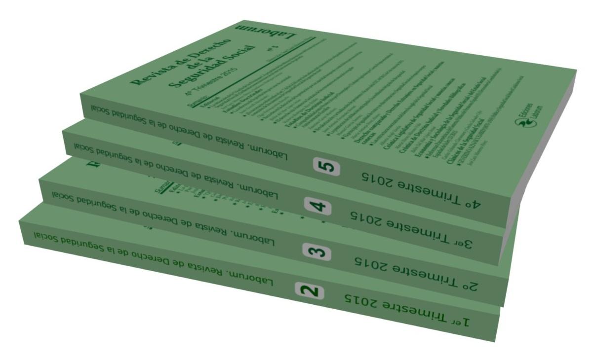 """Suscripción anual """"Revista de Derecho de la Seguridad Social"""" en formato Papel"""