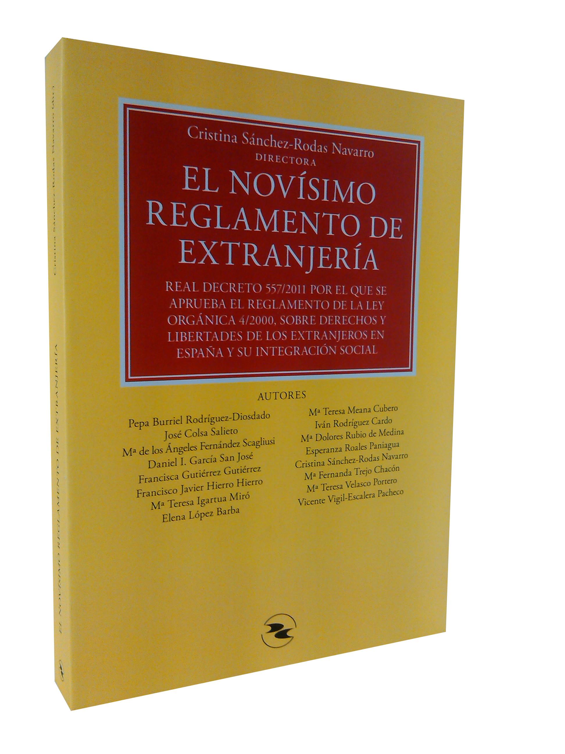El novísimo reglamento de extranjería