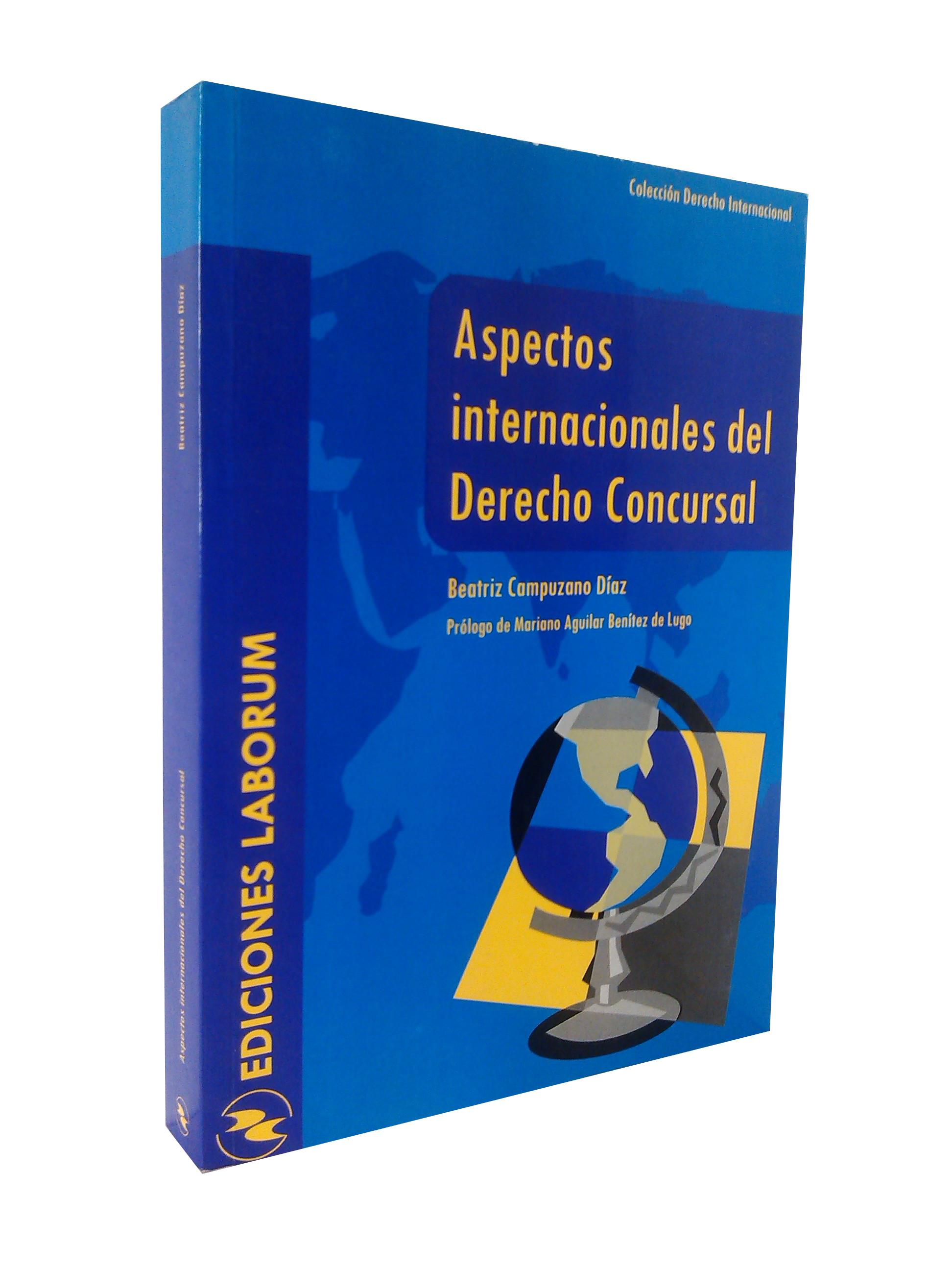 Aspectos internacionales del Derecho Concursal